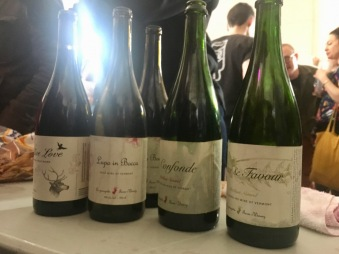 la garagista wines at brumaire