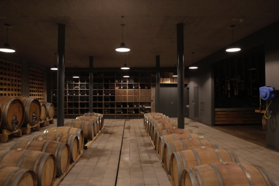 guerila wine zmago petric slovenia vipava barrel room